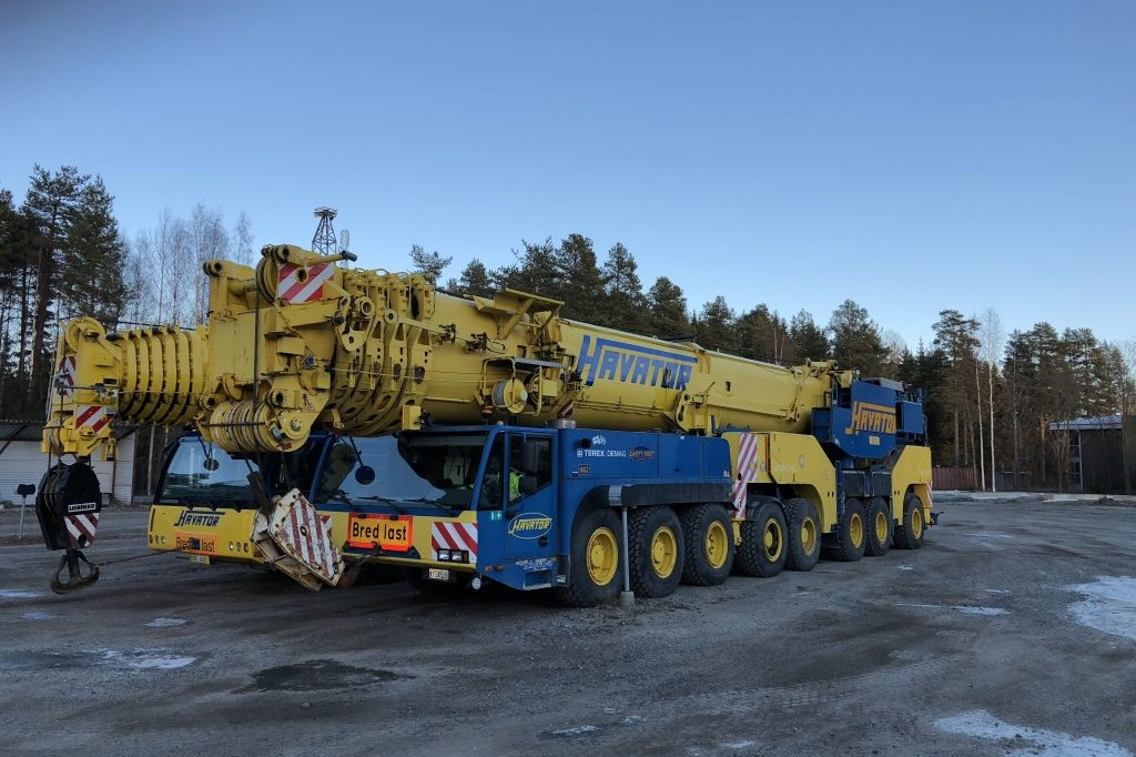 Mobile cranes for sale Havator